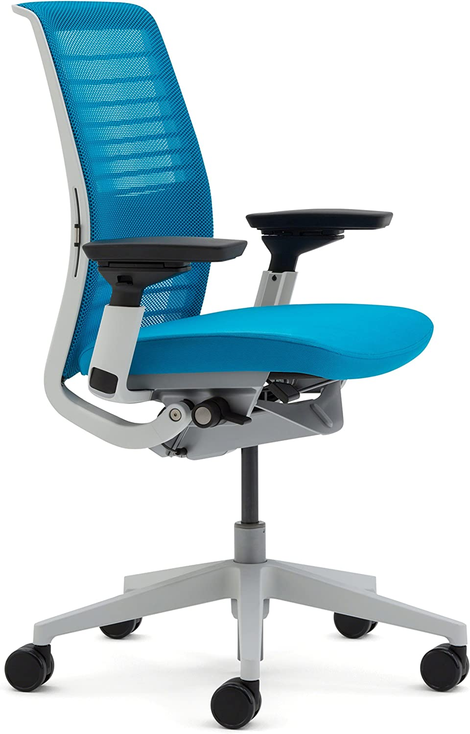 Steelcase 3D Knit Think Chair, Blue Jay -
