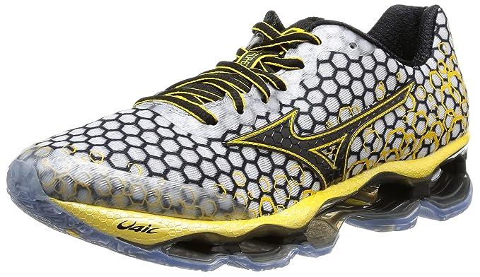 Mizuno Wave Prophecy 3 Running Shoes Men, White, 7.5 UK