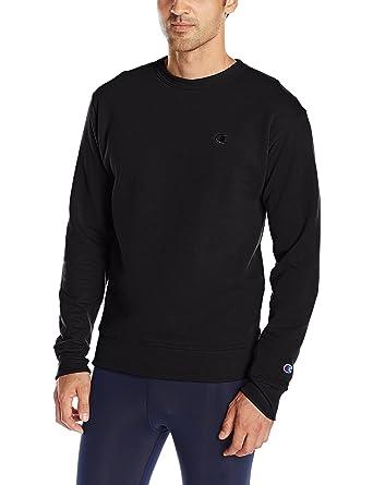 Champion Men's Powerblend Fleece Pullover Sweatshirt at Amazon ...