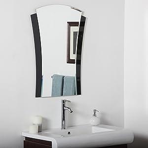 Decor Wonderland Deco Bathroom Mirror