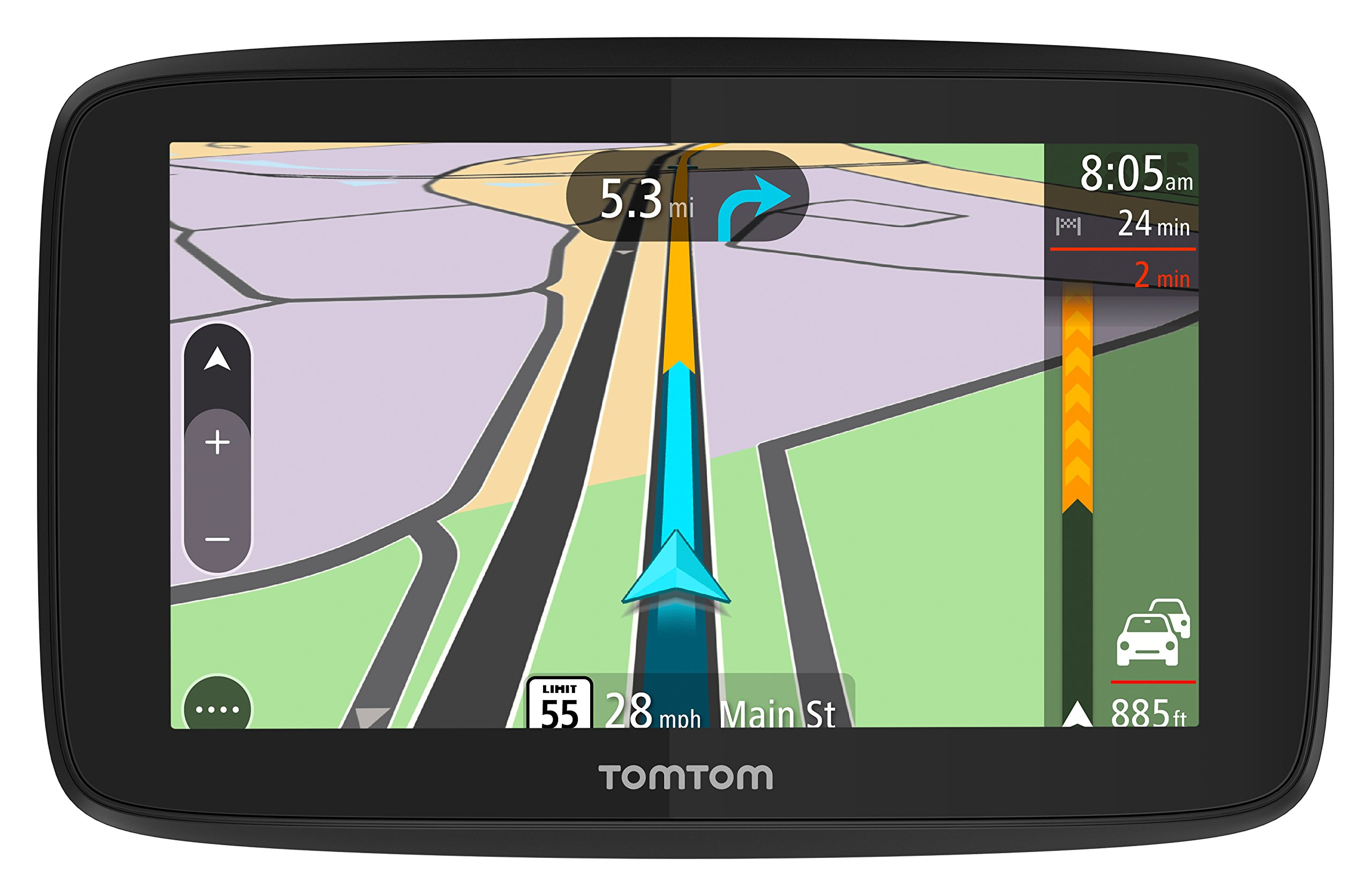 Tomtom Trucker 520 5-Inch Gps Navigation Device For Trucks With Wi-Fi Connectivity, Smartphone Services, And Free Lifetime Traffic And Maps Of North America by TomTom