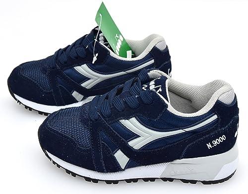 Diadora Scarpa Sneaker Bambino Blu Navy O Rosso Art