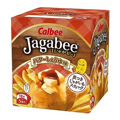 Jagabee じゃがビー バターしょうゆ味 90g×12個