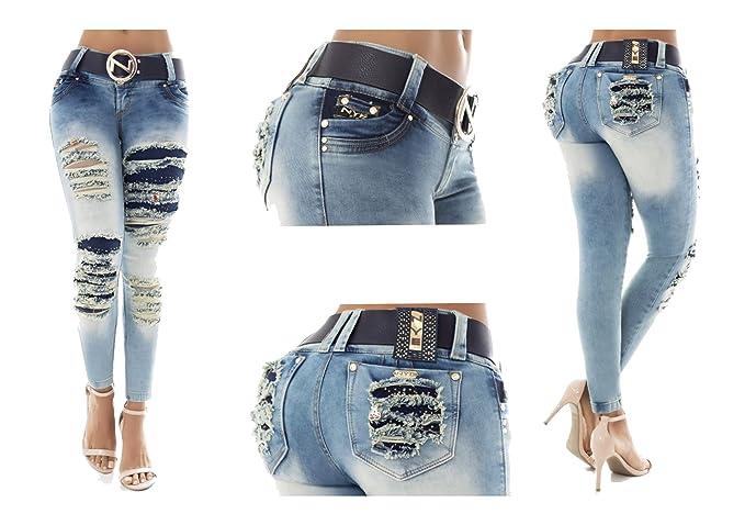 Vaqueros Jeans Wonder / Push Up Súper Pitillo Skinny Jeans ...