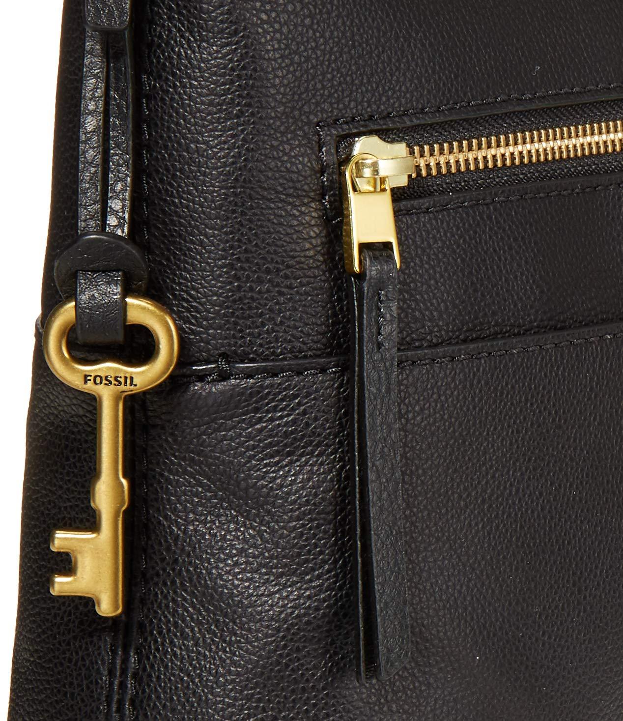 Fossil Women's Fiona Leather Crossbody Handbag Purse