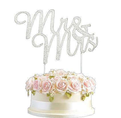 Amazon.com: LuLu Sparkles LLC Crystal Rhinestone Bling Wedding ...
