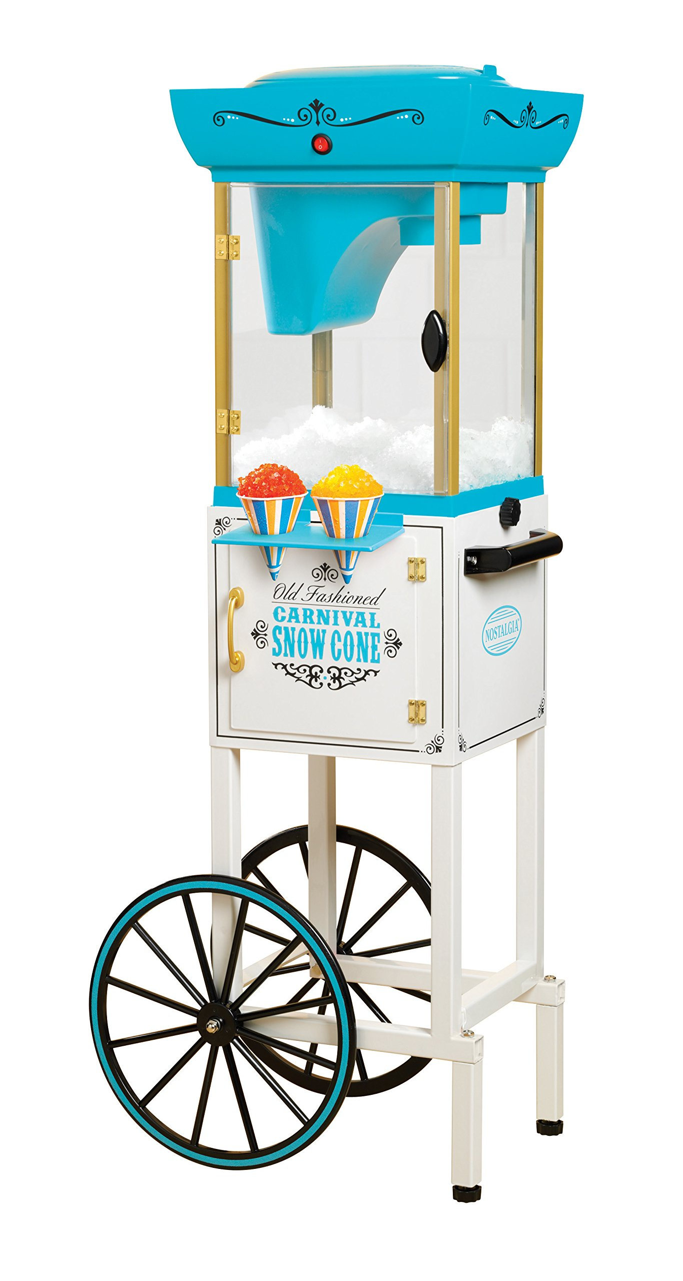 Nostalgia SCC399 Snow Cone Cart - 48 Inches Tall