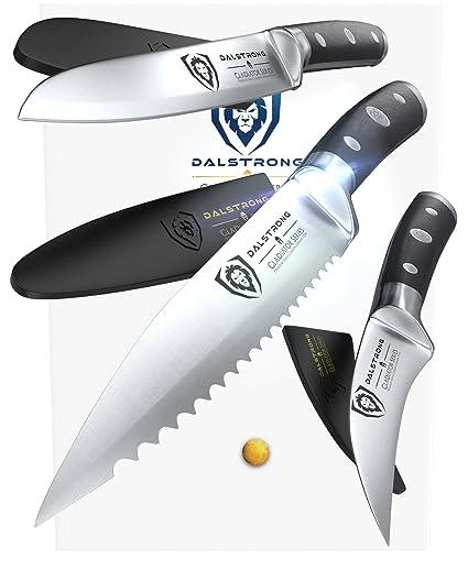 Dalstrong Cuchillo de cocina conjunto pico - Gladiator ...
