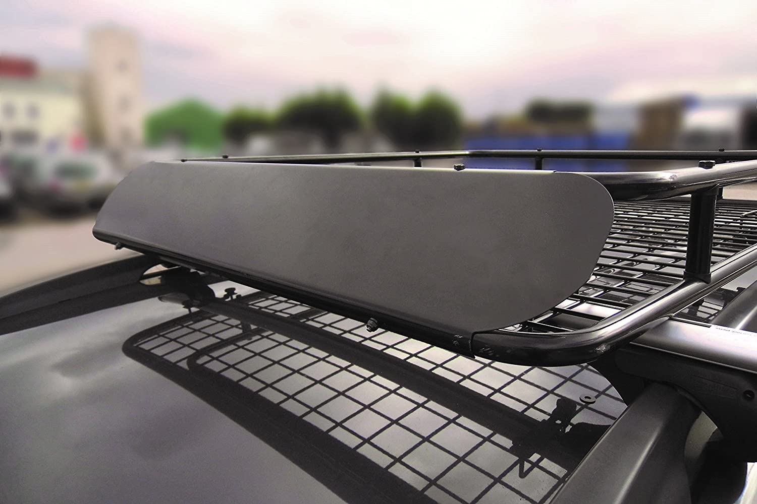 MP Essentials Universal Heavy Duty Aerodynamic Roof Rack Tray Carrier