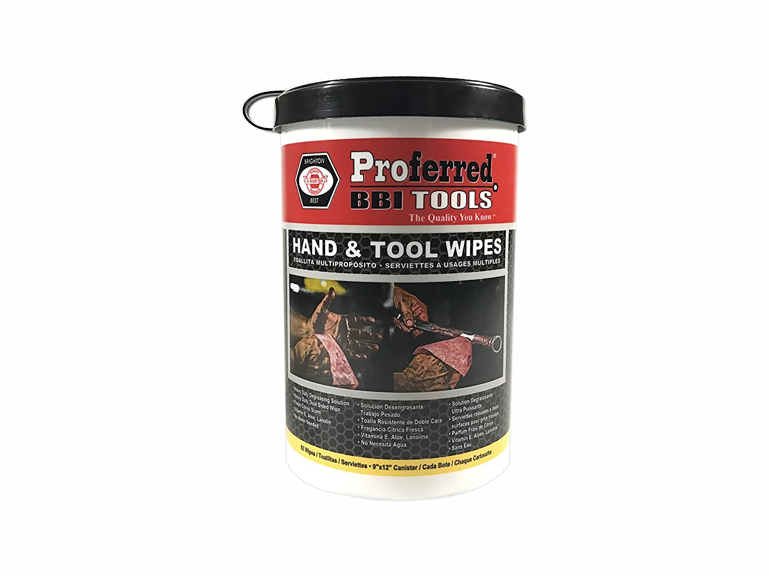Proferred T99001 Hand and Tool Wipes Canister: Amazon.com: Industrial & Scientific