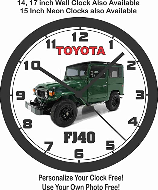 amazon toyota fj40 wall clock free usa ship home kitchen 1941 Willys Coupe Kit