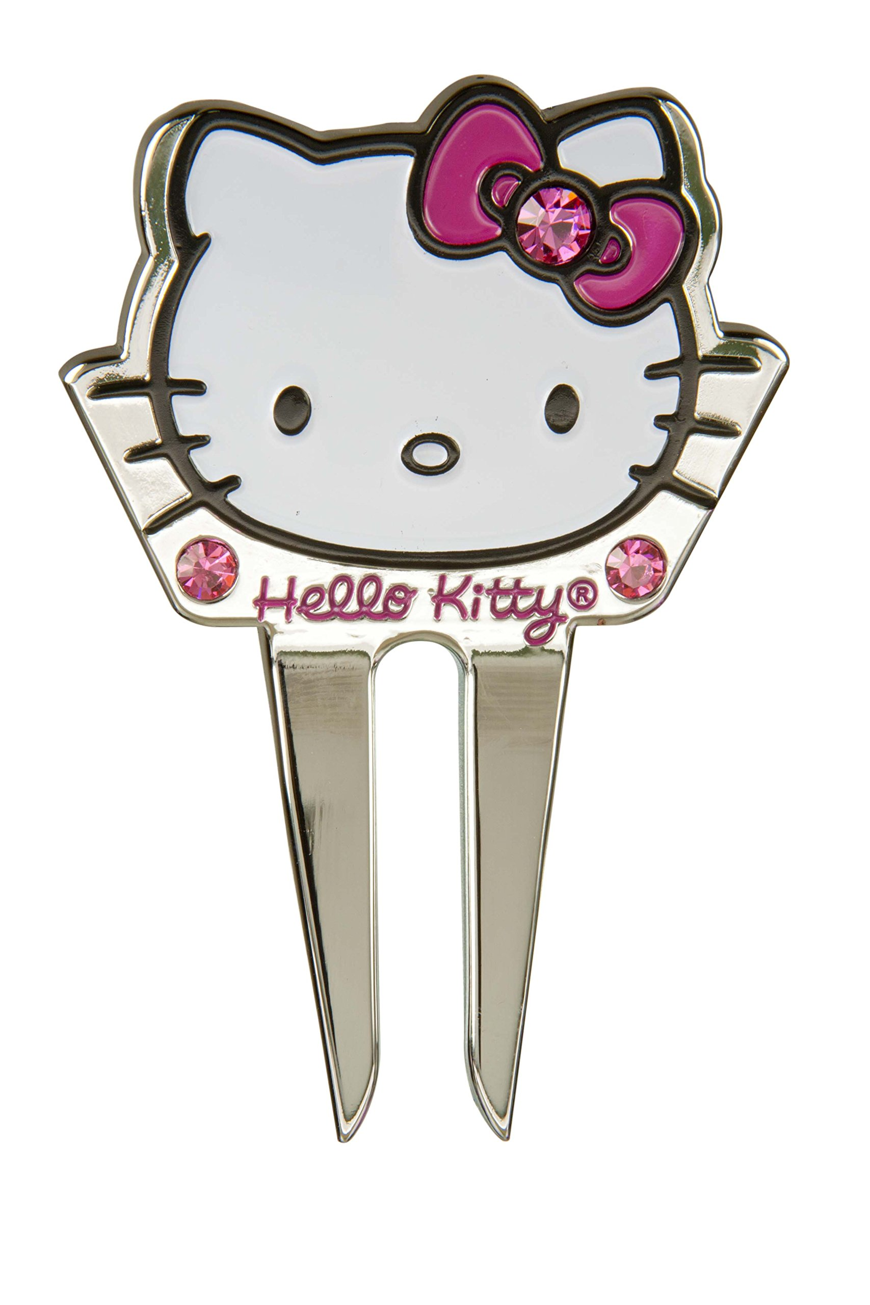 Hello Kitty Golf 3 Item - Kit -''The Collection'' Golf Balls (6 balls) + Hello Kitty Sports Script Hat (1 pc.) + Hello Kitty Premier Collection Divot Tool (1 pc.) by Hotshots (Image #5)