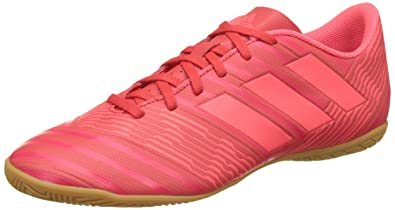 Adidas Men s Nemeziz Tango 17.4 in Pink Football Boots-9 UK India ... 5807af558