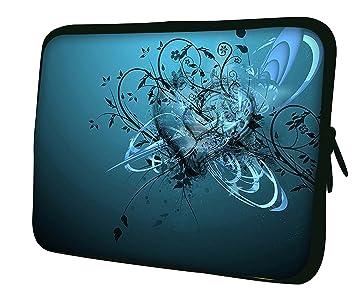 """d825c5803c Luxburg 14"""" pouces Housse Sacoche Pochette pour ordinateur portable /  tablet - Blue Heart"""