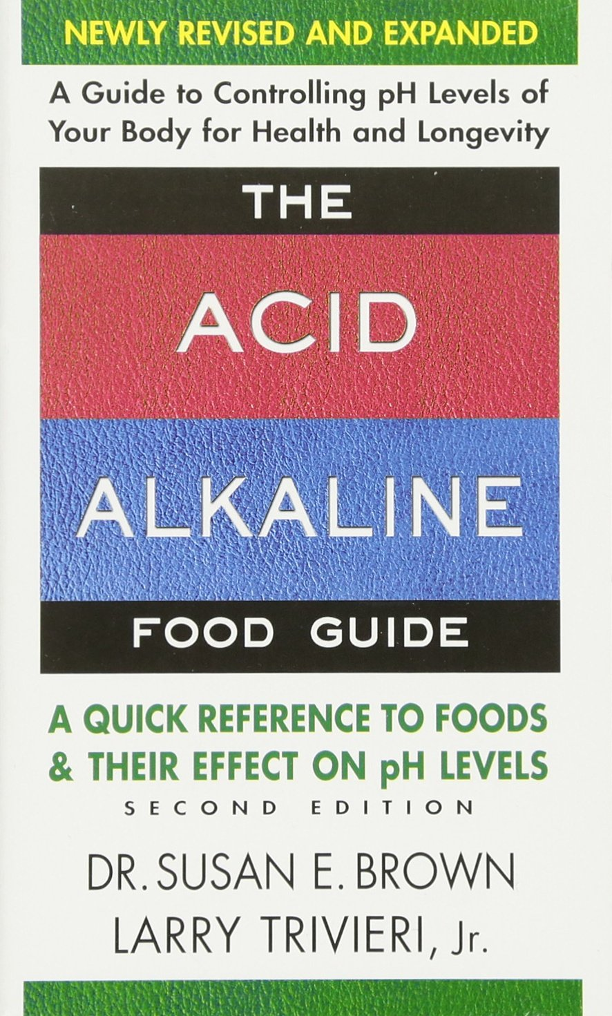 Acid Alkaline Food Guide Reference Efffect product image