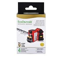 EcoDescalk. Descalcificador en Polvo para Cafeteras. para Todas Las Marcas, Bosch, Nespresso, Krups, DeLonghi, Tassimo.