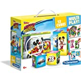Clementoni Puzzle 12 Multiplay Cubes Mickey
