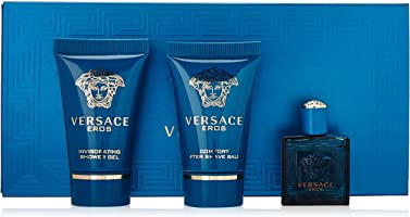 Versace Eros 3 Piece Mini Gift Set