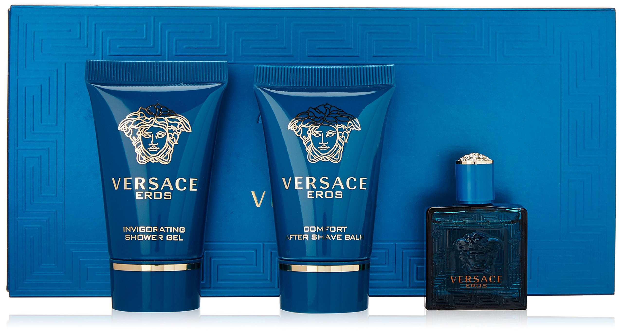 Amazon.com : Versace Eros Invigorating Shower Gel, 3.4 oz : Bath And ...