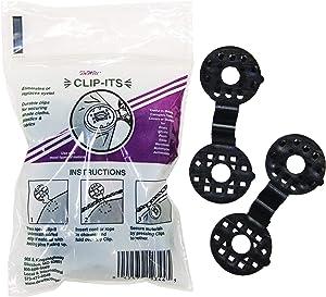Clip-It 25-Pack Plastic Grommets