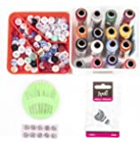 i-Craft TK-02 Multipurpose Tailoring kit  Sewing kit for Home Sewing Accessories Compact Needle Threads 