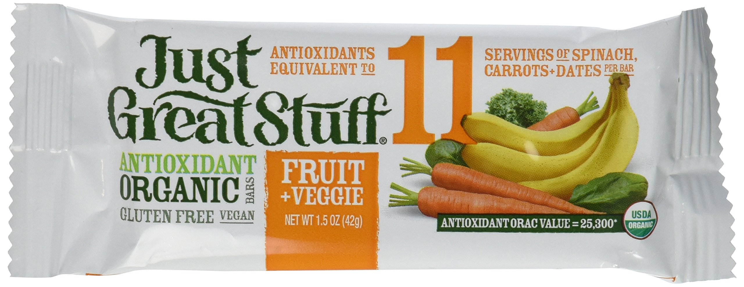 Betty Lous Fruit and Veggie Bar, 1.5 Ounce - 12 per pack -- 1 each.