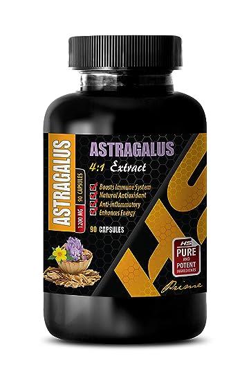 Amazon.com: Pastillas para la salud del corazón – Astragalus ...