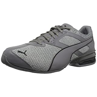 PUMA Men's Tazon 6 FM Knit Sneaker,grey,9.5 M US