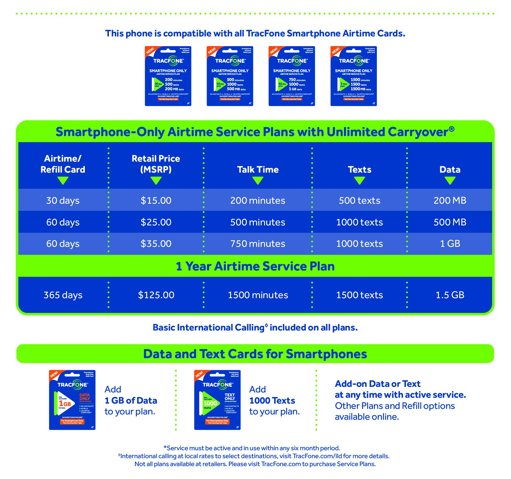 TracFone LG Rebel 4G LTE Prepaid Smartphone with Free $30 Airtime installed in phone by TracFone (Image #3)