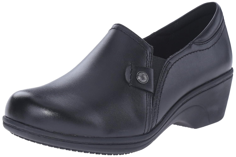 AravonレディースHope AR耐スリップ作業靴 B00M15KMOQ 9.5 D US|ブラック ブラック 9.5 D US