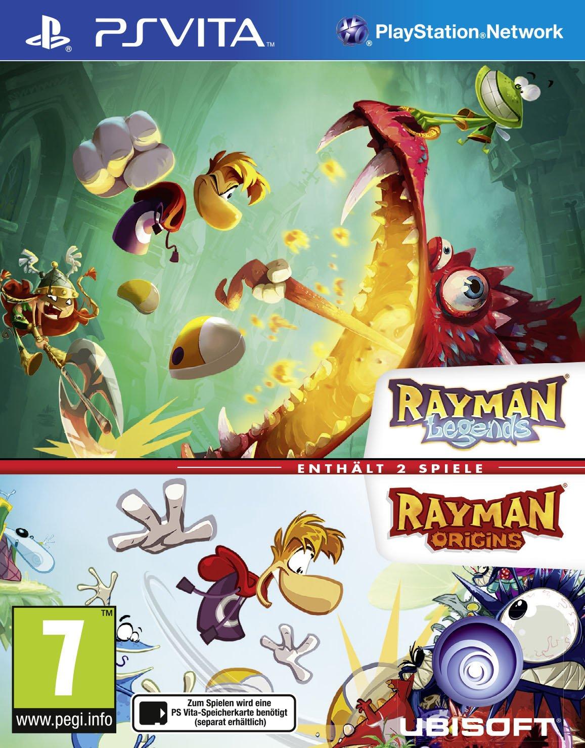 Rayman Legends Ps Vita Origins Switch English Pal Games Pc Video