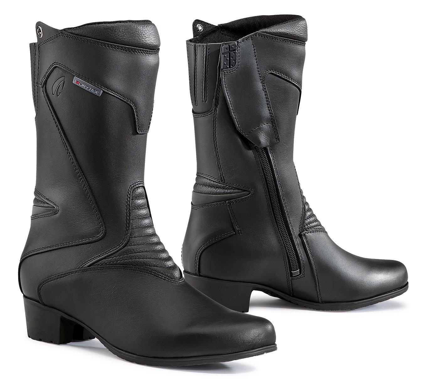 Forma Stiefel Moto Damen Ruby WP Eichzulassung CE, Schwarz, 35 FORMABOOTS FORT89W-99