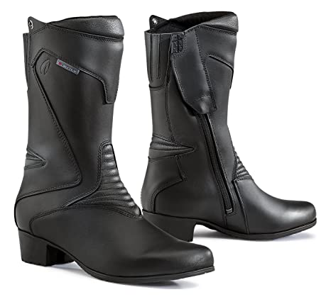 Forma FORT89W-9939 Bottes Moto Femme Ruby WP Homologuée CE, Noir, Taille 39 0ae73188ead1