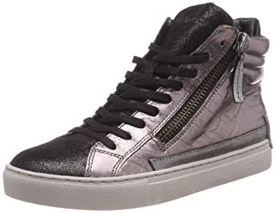 Crime London Women s 25144aa1.23 Hi-Top Trainers  Amazon.co.uk ... 7c195bd565f