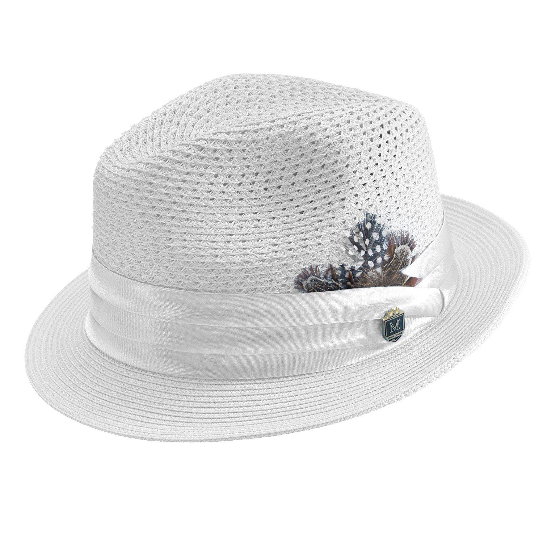 Montique HAT メンズ B00ULQR574 X-Large|ホワイト ホワイト X-Large