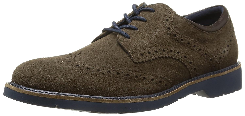 Geox U Garret A, Zapatos de Cordones Derby para Hombre