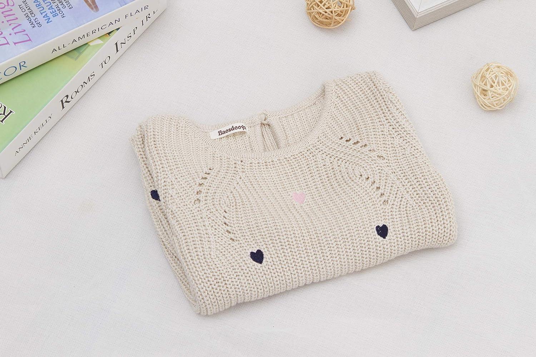 Baosdooya Pullover Sweater for Girl