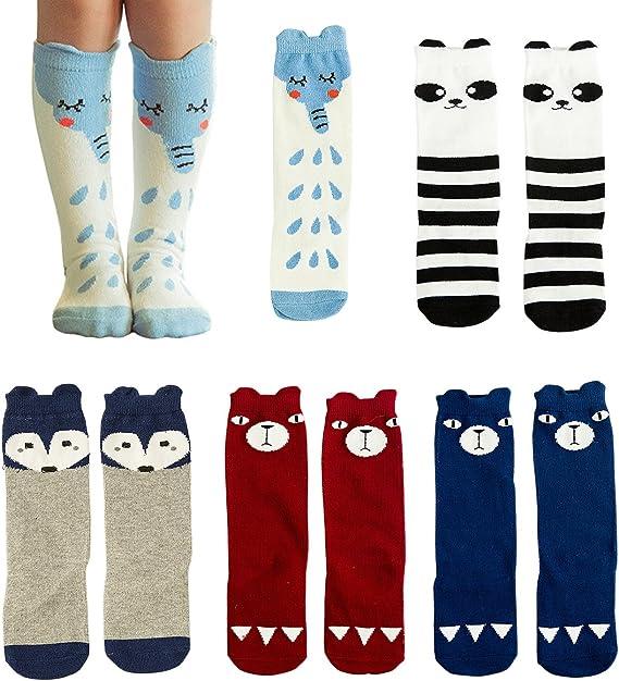 High Elasticity Girl Cotton Knee High Socks Uniform Winter Plum Women Tube Socks