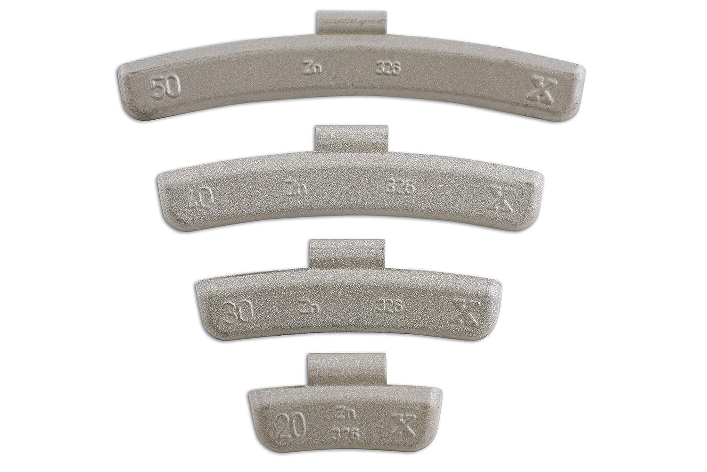 Connect 32853 - Pesos de rueda para ruedas de aleació n (5 g, 100 unidades) The Tool Connection Ltd.