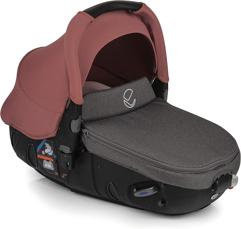 plegado compacto freno de pie chasis de aluminio de 6,8 kg silla de paseo y portabeb/é convertible matrix light 2 color boho pink Cochecito de bebe 2 piezas Jan/é Kendo unisex incluye bolso