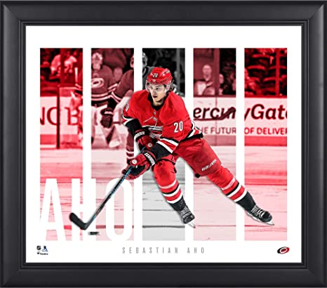 79ba2dcd9ad Sebastian Aho Carolina Hurricanes Framed 15 quot  x 17 quot  Player Panel  Collage - NHL Player
