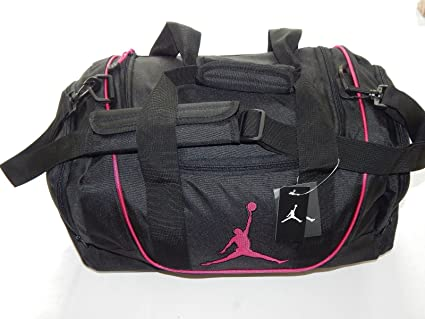 Image Unavailable. Image not available for. Color  Nike Air Jordan Duffel  Gym Bag Basketball Tote Black ... a1c39a2b94024