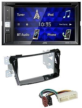 caraudio24 JVC KW-V250BT - Radio para Coche con Reproductor de CD ...