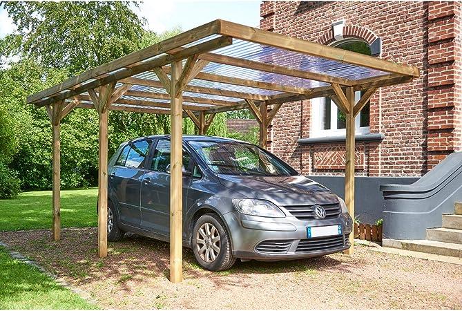 FOREST STYLE Garaje cochera MAX tejado 304 x 517 cm: Amazon.es: Jardín