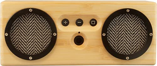 Otis Eleanor Bongo Bamboo Wood Bluetooth Speaker