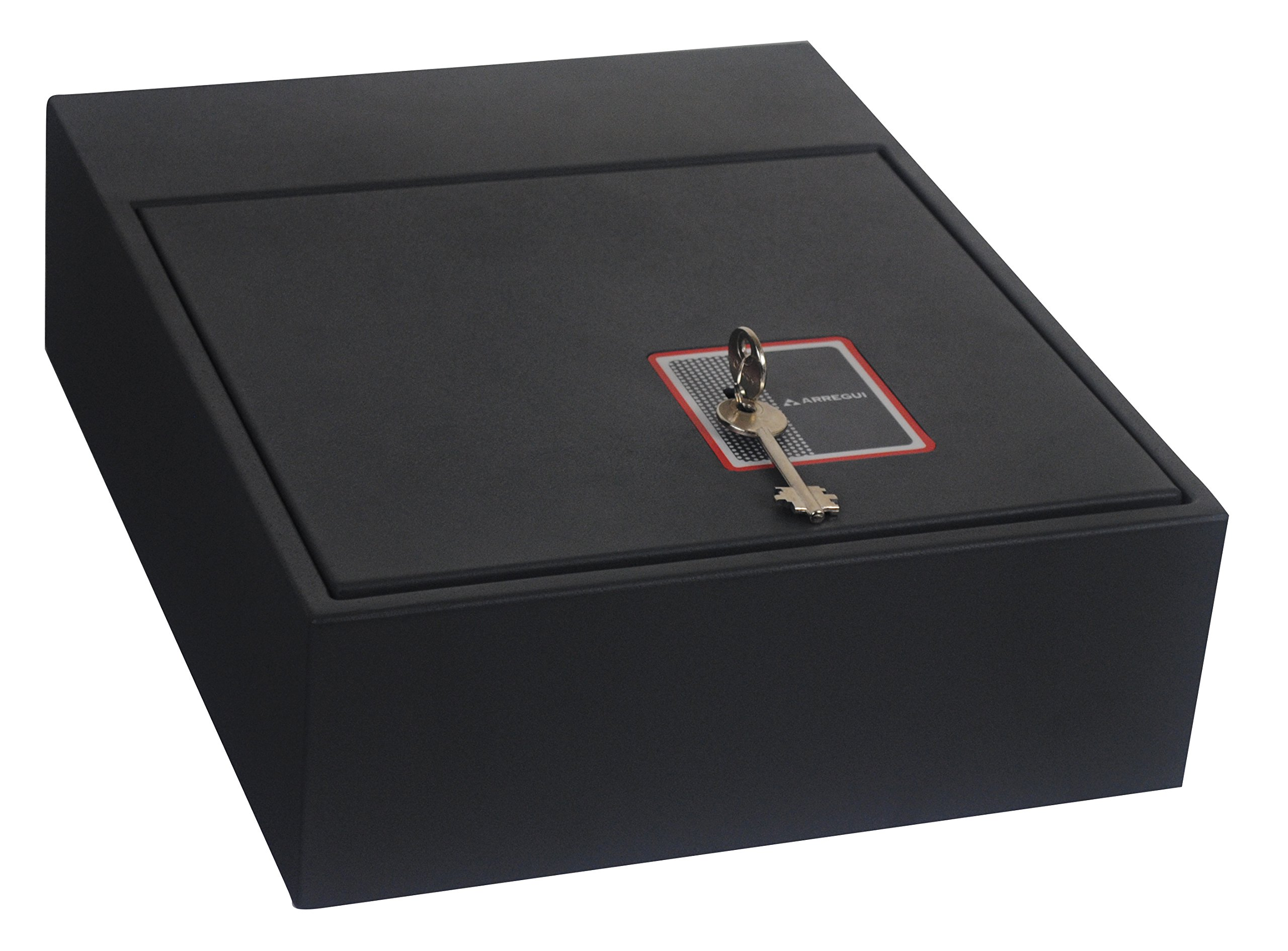 Arregui 20000-S7K- Caja fuerte camuflada para zócalo de armario, color negro product