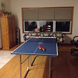 Joola midsize table tennis table ping pong - How much space for a ping pong table ...