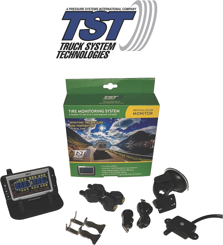 Tst 507 Series 4 Flow Thru Sensor Tpms System with Color Display