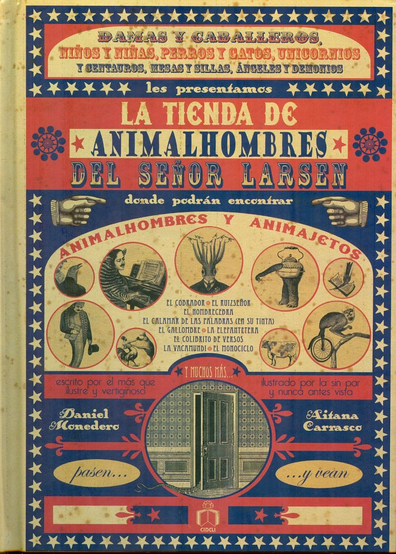 La tienda de animalhombres del senor Larsen / The animal-man ...