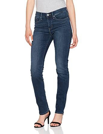 Levi's Damen Jeans 312 Shaping Slim, blau/Fun Times 0056, W25/L30